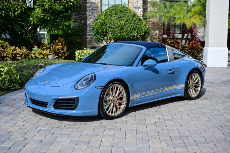 Used 2017 Porsche 911 Targa 4S for sale Sold at Track and Field Motors in Safety Harbor FL 34695 2