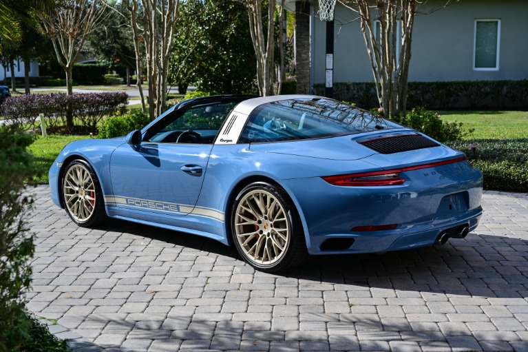 Used 2017 Porsche 911 Targa 4S for sale Sold at Track and Field Motors in Safety Harbor FL 34695 3