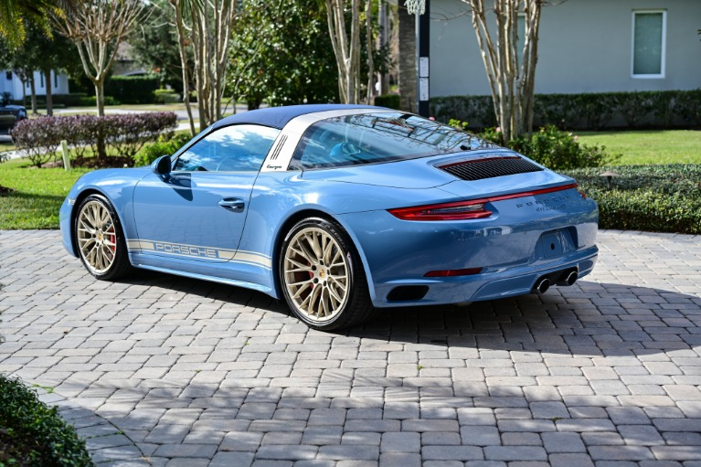 Used 2017 Porsche 911 Targa 4S for sale Sold at Track and Field Motors in Safety Harbor FL 34695 5