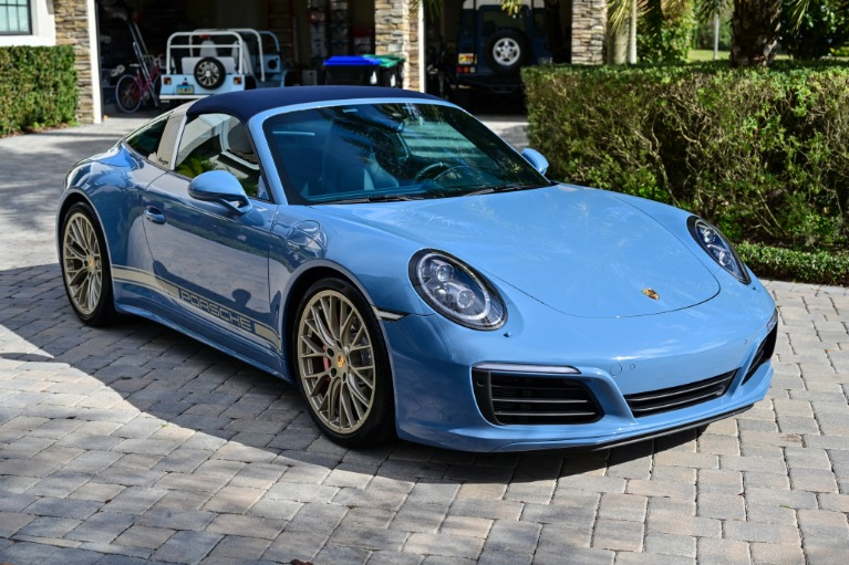 Used 2017 Porsche 911 Targa 4S for sale Sold at Track and Field Motors in Safety Harbor FL 34695 8
