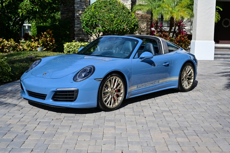 Used 2017 Porsche 911 Targa 4S for sale Sold at Track and Field Motors in Safety Harbor FL 34695 1
