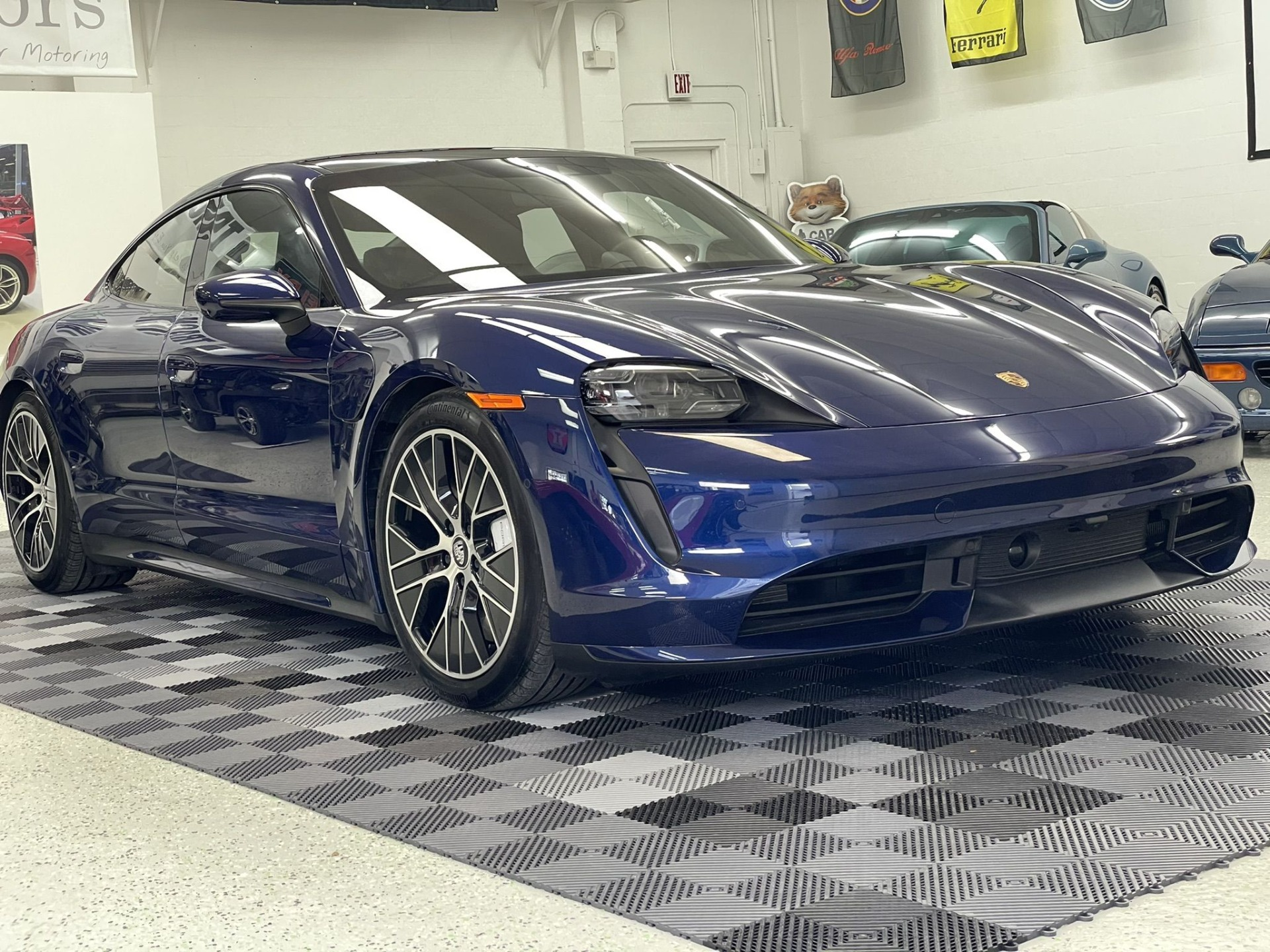 Used 2020 Porsche Taycan Turbo for sale Sold at Track & Field Motors in Safety Harbor FL 34695 1