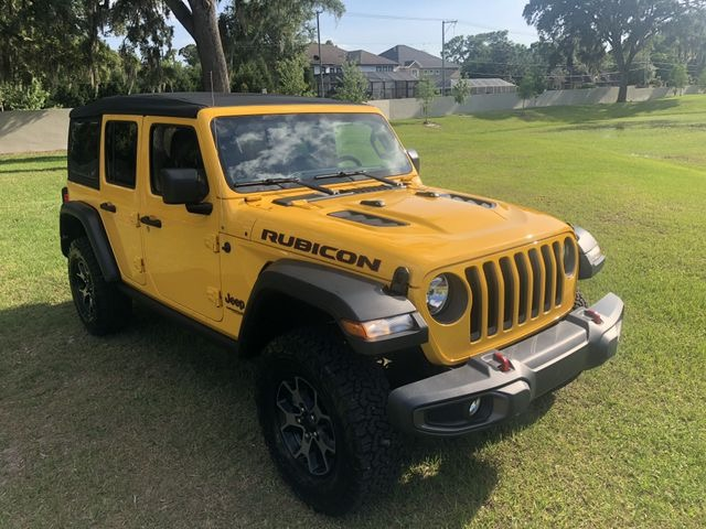 Used 2019 Jeep Wrangler Unlimited Rubicon Sport Utility 4D for sale Sold at Track and Field Motors in Safety Harbor FL 34695 2