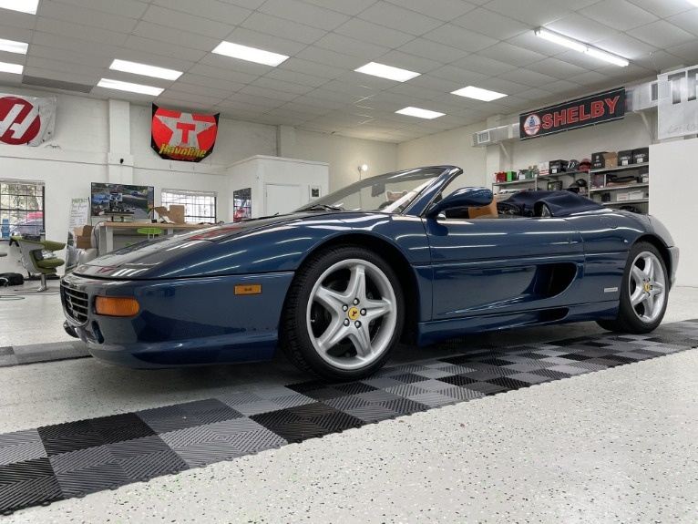 Used 1998 FERRARI 355 SPIDER for sale $89,997 at Track and Field Motors in Safety Harbor FL 34695 4