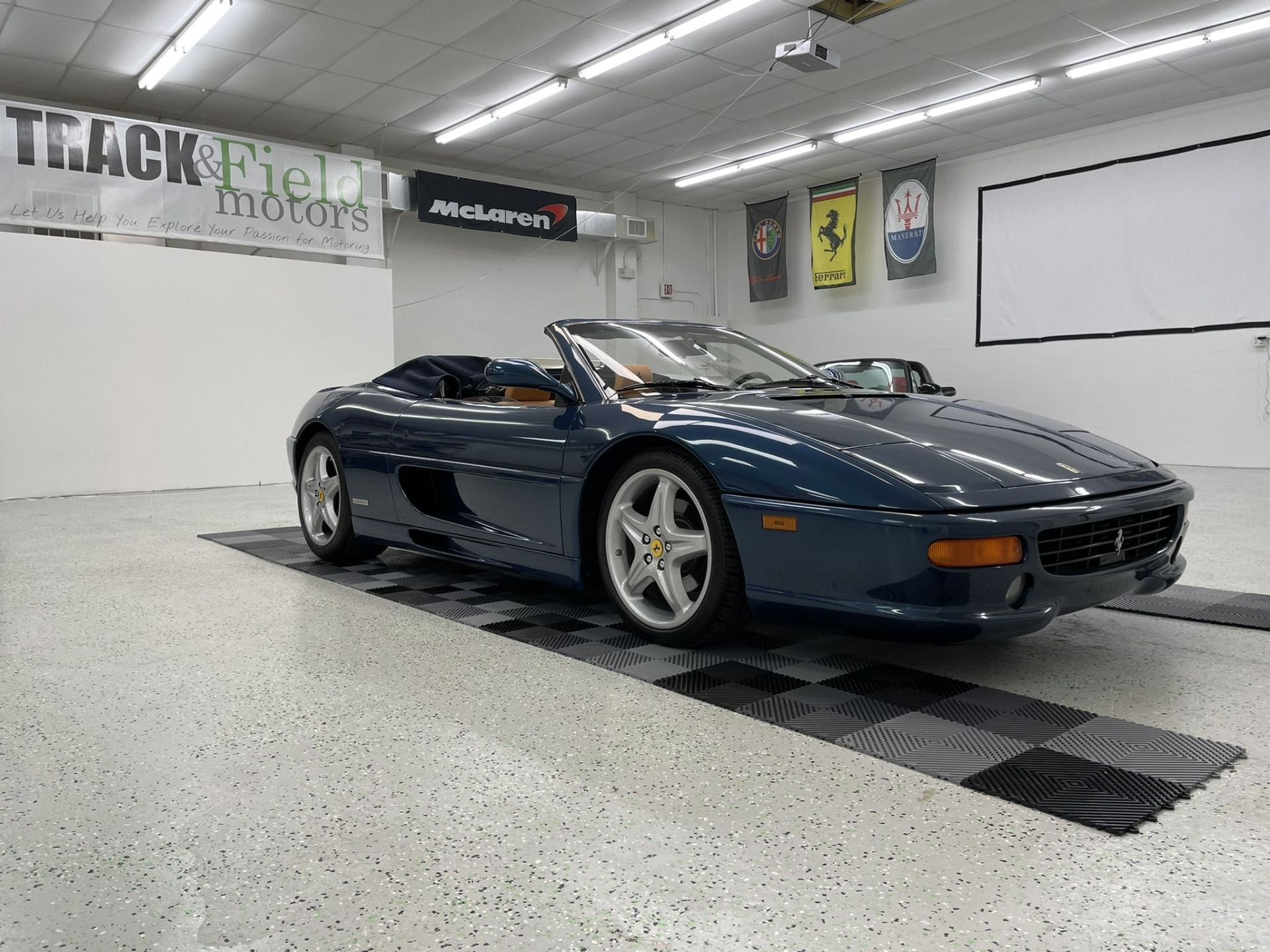 Used 1998 FERRARI 355 SPIDER for sale $72,497 at Track and Field Motors in Safety Harbor FL