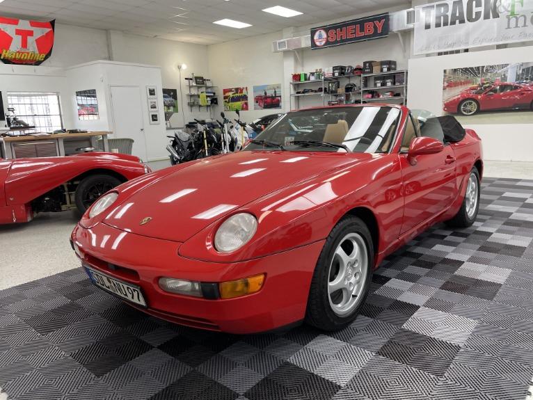 Used 1994 Porsche 968 Cabriolet 2D for sale Sold at Track & Field Motors in Safety Harbor FL 34695 4