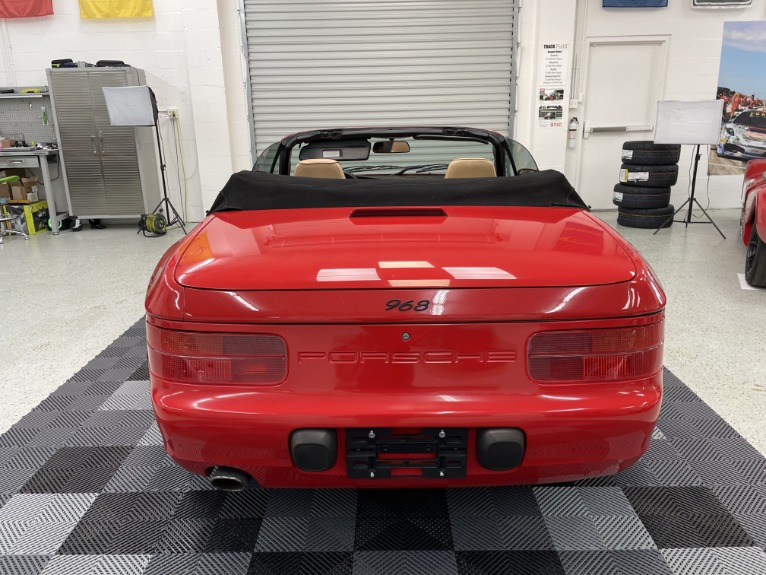 Used 1994 Porsche 968 Cabriolet 2D for sale Sold at Track & Field Motors in Safety Harbor FL 34695 7