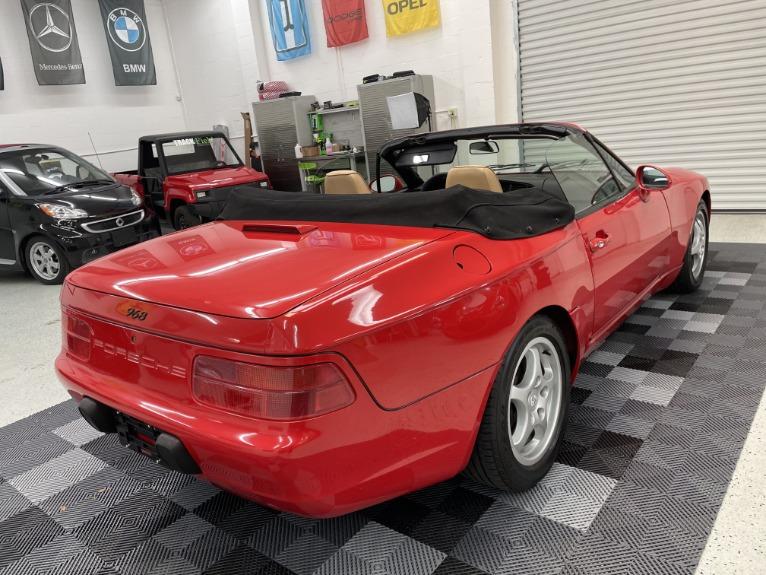 Used 1994 Porsche 968 Cabriolet 2D for sale Sold at Track & Field Motors in Safety Harbor FL 34695 8