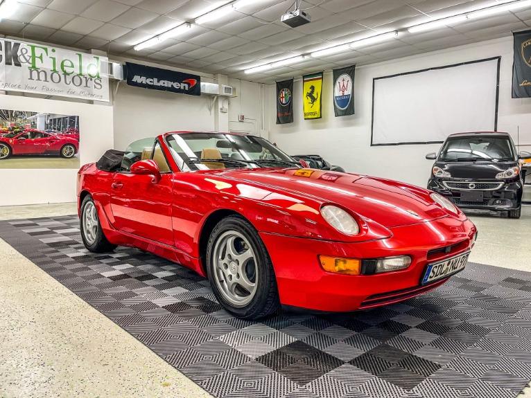Used 1994 Porsche 968 Cabriolet 2D for sale Sold at Track & Field Motors in Safety Harbor FL 34695 1