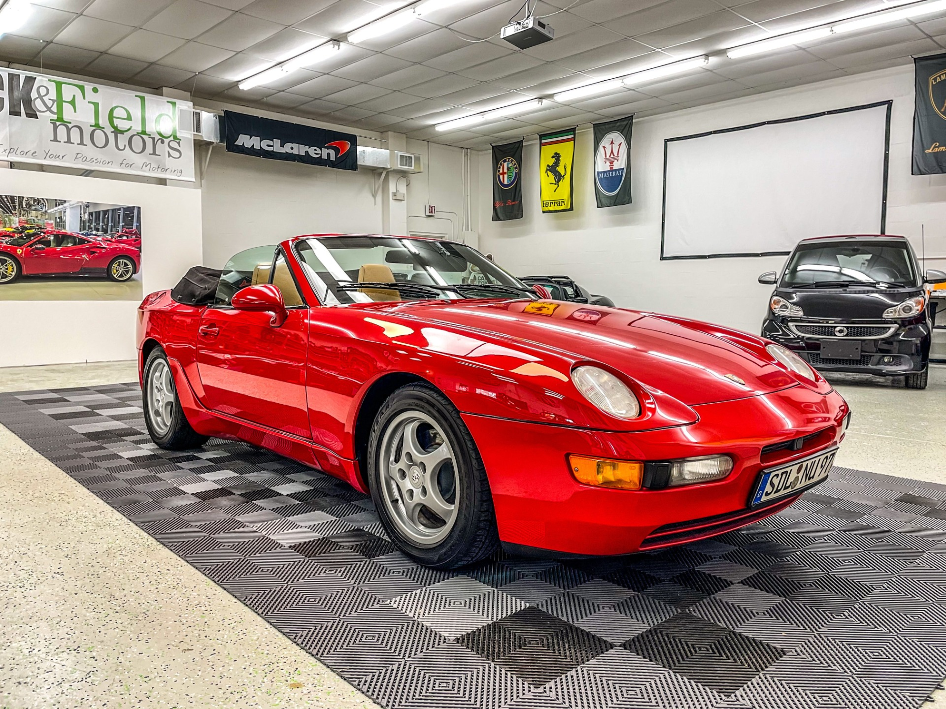 Used 1994 Porsche 968 Cabriolet 2D for sale $19,997 at Track and Field Motors in Safety Harbor FL