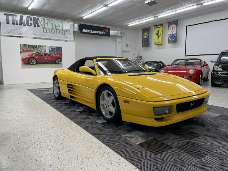 Used 1994 Ferrari 348 Spider for sale $69,497 at Track and Field Motors in Safety Harbor FL 34695 2