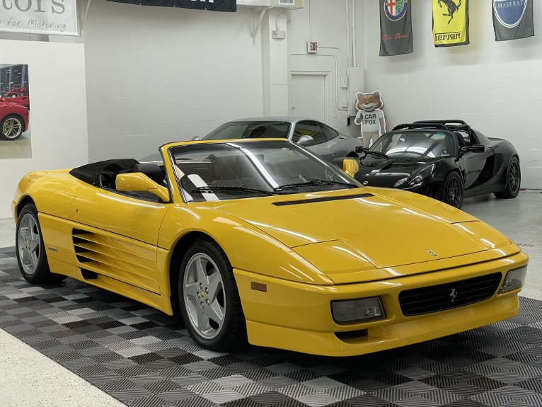 Used 1994 Ferrari 348 Spider for sale $69,497 at Track and Field Motors in Safety Harbor FL 34695 5