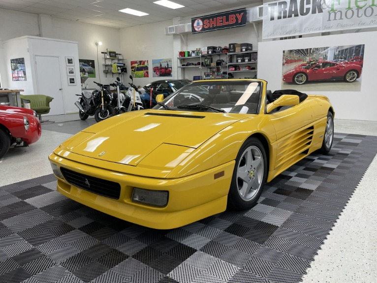 Used 1994 Ferrari 348 Spider for sale $69,497 at Track and Field Motors in Safety Harbor FL 34695 7
