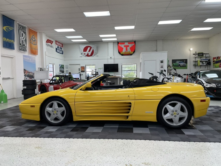 Used 1994 Ferrari 348 Spider for sale $69,497 at Track and Field Motors in Safety Harbor FL 34695 8