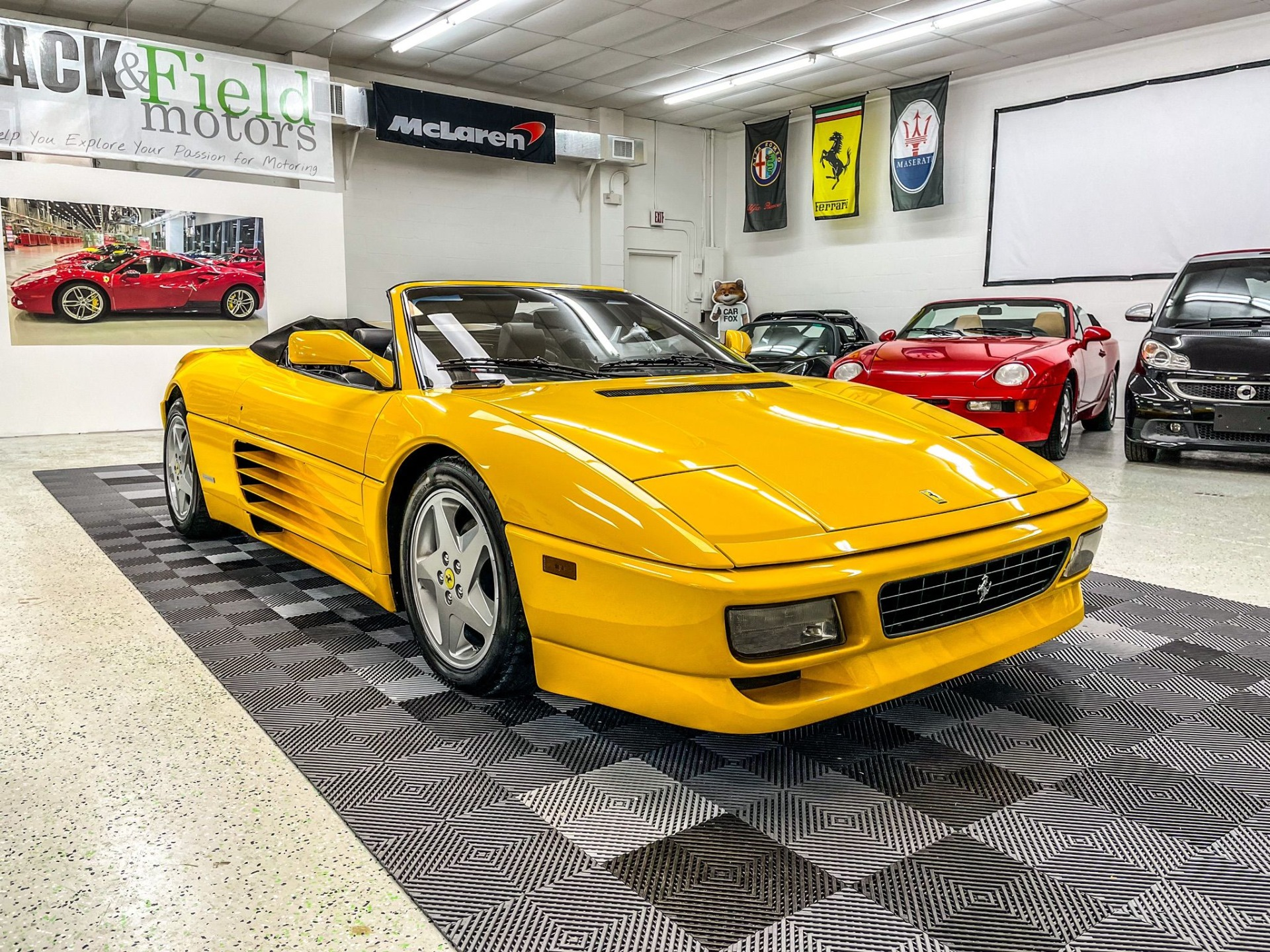 Used 1994 Ferrari 348 Spider for sale $69,497 at Track and Field Motors in Safety Harbor FL 34695 1