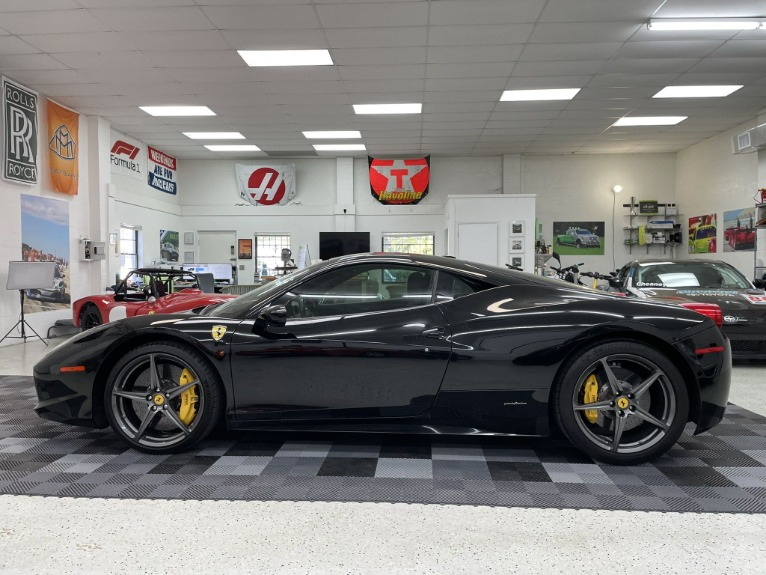 Used 2011 Ferrari 458 Italia Coupe 2D for sale $164,997 at Track and Field Motors in Safety Harbor FL 34695 2