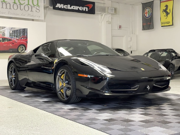 Used 2011 Ferrari 458 Italia Coupe 2D for sale $164,997 at Track and Field Motors in Safety Harbor FL 34695 4