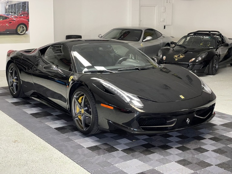 Used 2011 Ferrari 458 Italia Coupe 2D for sale $164,997 at Track and Field Motors in Safety Harbor FL 34695 5