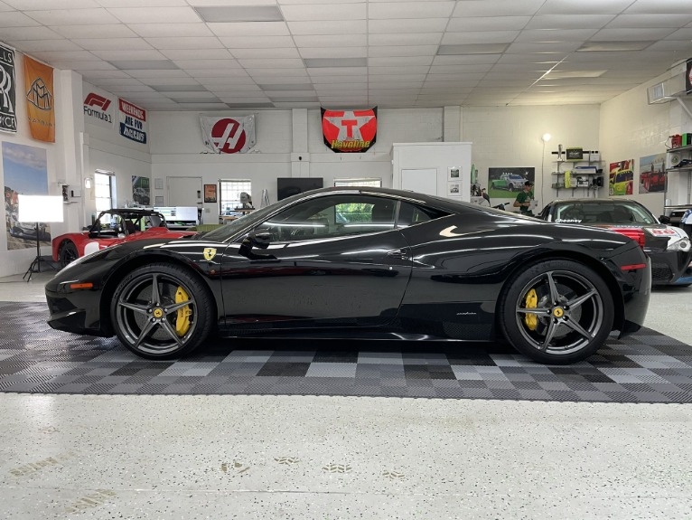 Used 2011 Ferrari 458 Italia Coupe 2D for sale $164,997 at Track and Field Motors in Safety Harbor FL 34695 8