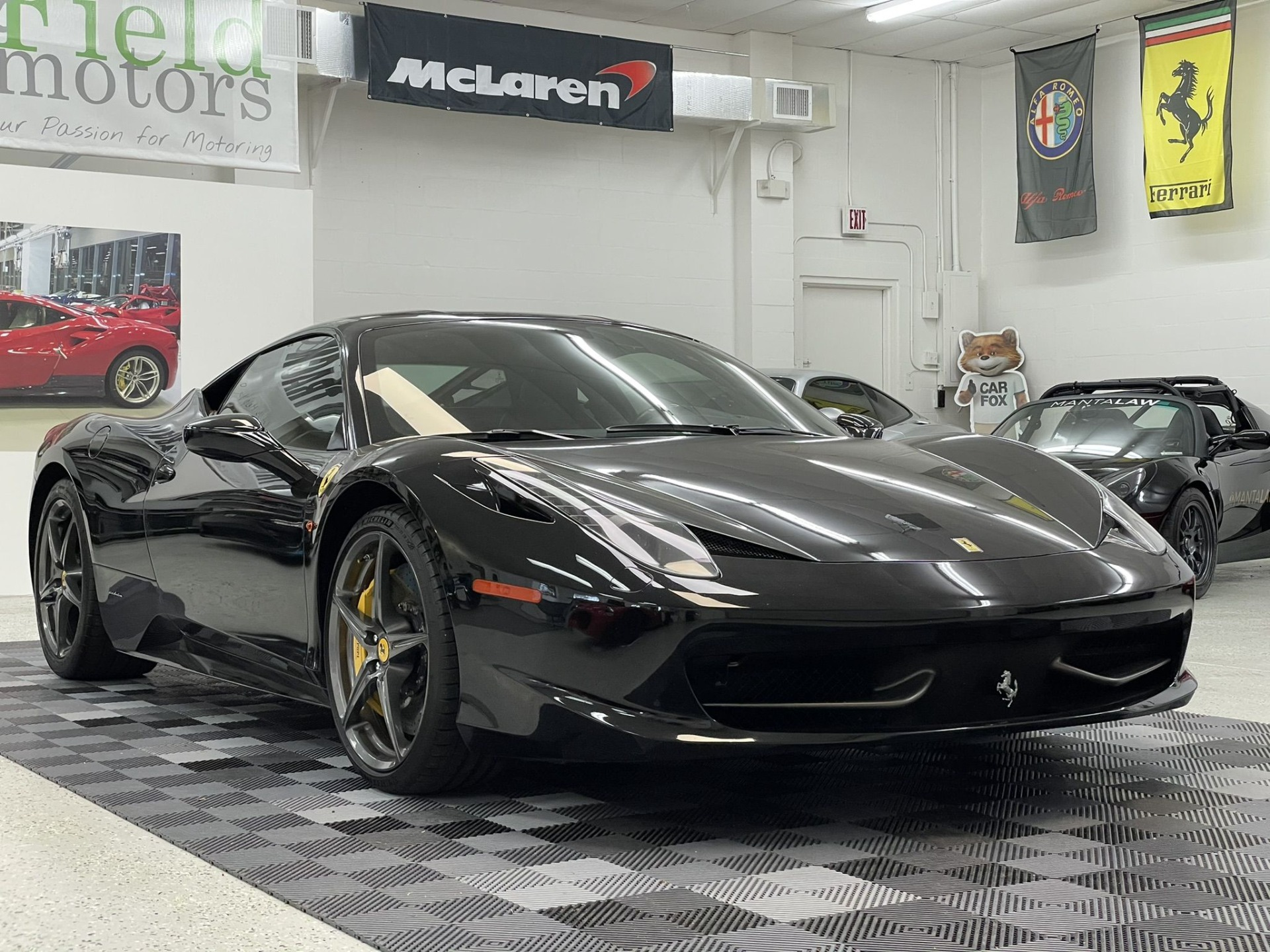 Used 2011 Ferrari 458 Italia Coupe 2D for sale $164,997 at Track and Field Motors in Safety Harbor FL