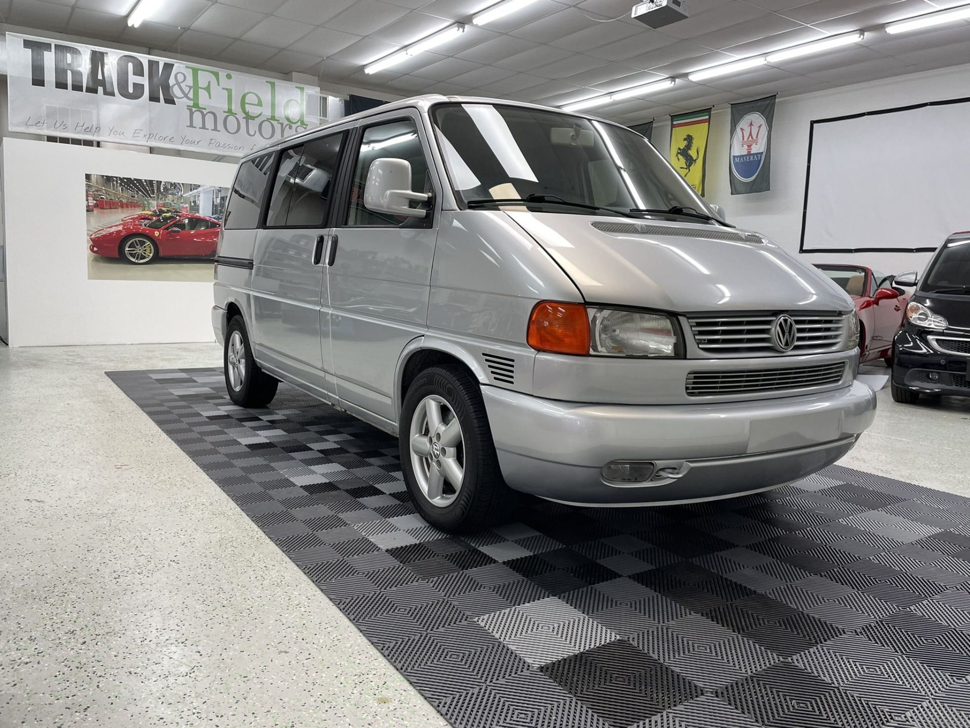 Used 2002 Volkswagen Eurovan MV Minivan for sale Sold at Track and Field Motors in Safety Harbor FL 34695 1