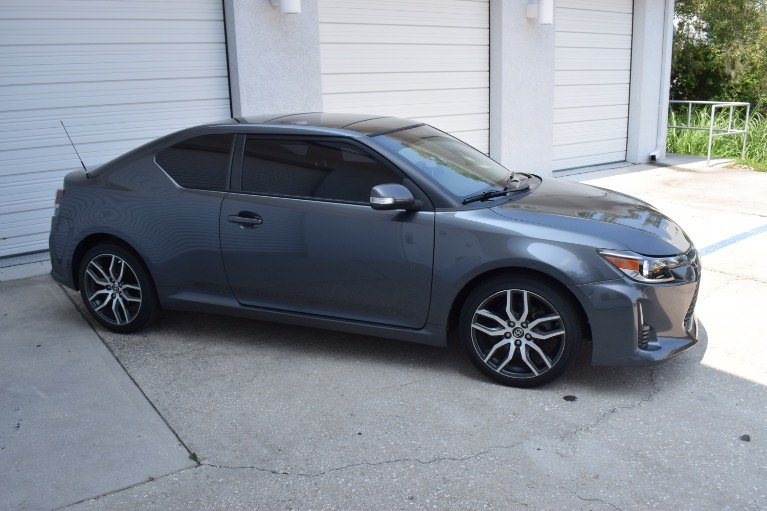 Used 2014 Scion tC Hatchback Coupe 2D for sale Sold at Track and Field Motors in Safety Harbor FL 34695 4