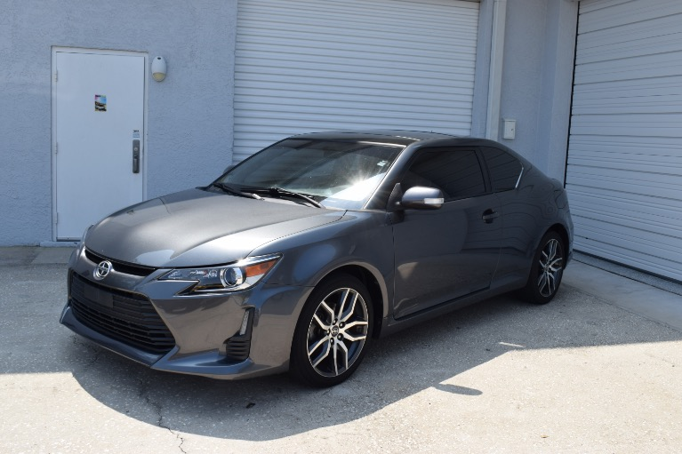 Used 2014 Scion tC Hatchback Coupe 2D for sale Sold at Track and Field Motors in Safety Harbor FL 34695 7