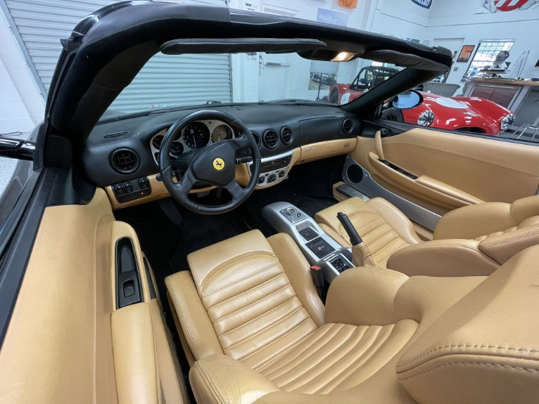 Used 2003 Ferrari 360 Convertible 2D Spider 3.6L V8 for sale $89,997 at Track and Field Motors in Safety Harbor FL 34695 2