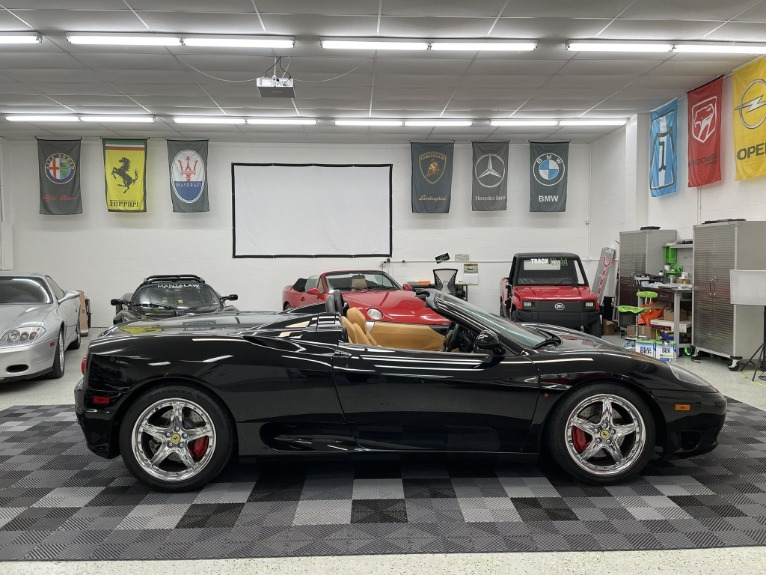 Used 2003 Ferrari 360 Convertible 2D Spider 3.6L V8 for sale $89,997 at Track and Field Motors in Safety Harbor FL 34695 6