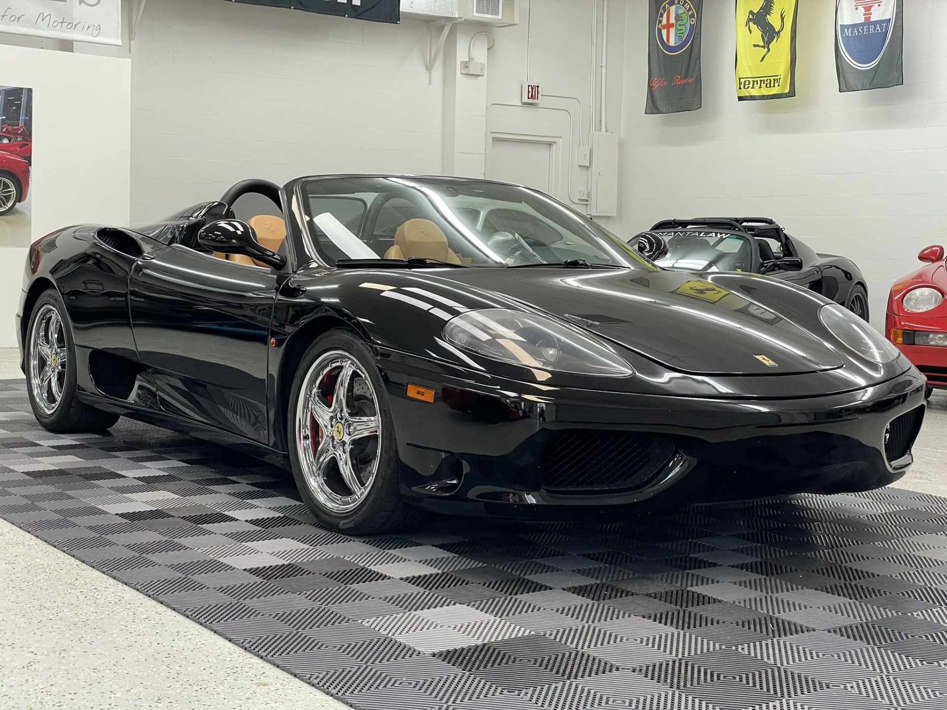 Used 2003 Ferrari 360 Convertible 2D Spider 3.6L V8 for sale $89,997 at Track and Field Motors in Safety Harbor FL