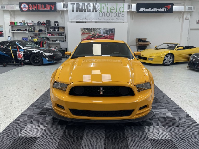 Used 2013 Ford Mustang Boss 302 Coupe 2D for sale Sold at Track & Field Motors in Safety Harbor FL 34695 2