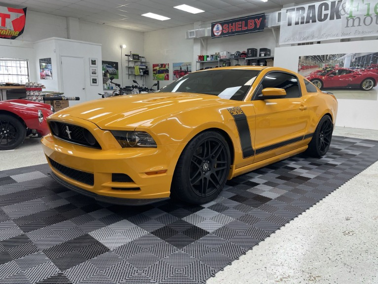 Used 2013 Ford Mustang Boss 302 Coupe 2D for sale Sold at Track & Field Motors in Safety Harbor FL 34695 3
