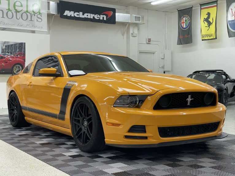 Used 2013 Ford Mustang Boss 302 Coupe 2D for sale Sold at Track & Field Motors in Safety Harbor FL 34695 1
