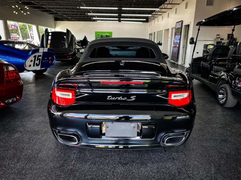 Used 2011 Porsche 911 Turbo S Convertible 2D for sale Sold at Track & Field Motors in Safety Harbor FL 34695 4