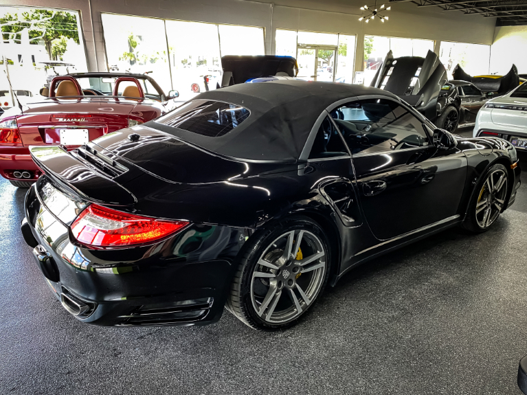 Used 2011 Porsche 911 Turbo S Convertible 2D for sale Sold at Track & Field Motors in Safety Harbor FL 34695 5