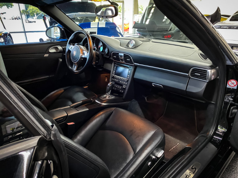 Used 2011 Porsche 911 Turbo S Convertible 2D for sale Sold at Track & Field Motors in Safety Harbor FL 34695 6