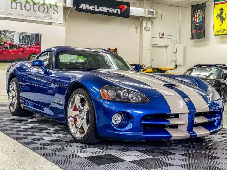 Used 2006 Dodge Viper SRT10 Coupe 2D for sale Sold at Track & Field Motors in Safety Harbor FL 34695 1