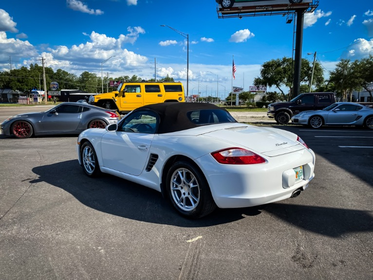 Used 2008 Porsche Boxster Convertible 2D for sale $22,997 at Track & Field Motors in Safety Harbor FL 34695 4