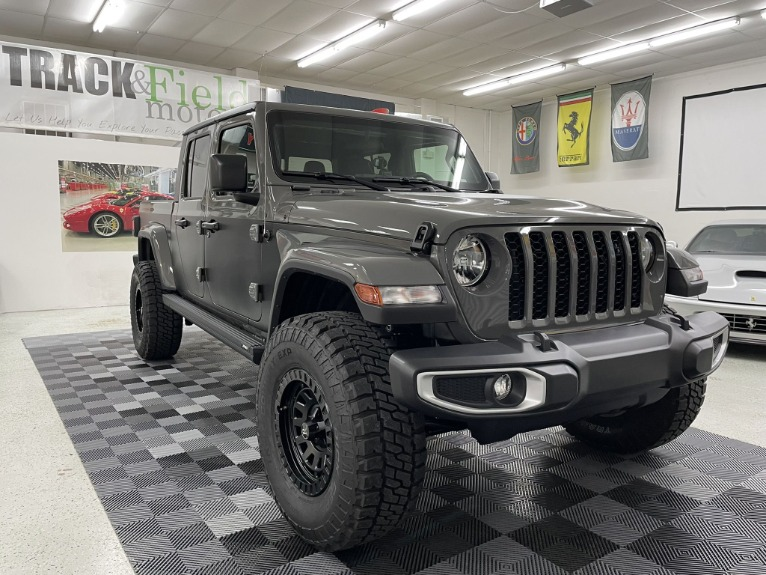 Used 2021 Jeep Gladiator Sport Pickup 4D 5 ft for sale $64,497 at Track & Field Motors in Safety Harbor FL 34695 2