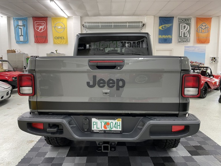 Used 2021 Jeep Gladiator Sport Pickup 4D 5 ft for sale $64,497 at Track & Field Motors in Safety Harbor FL 34695 7
