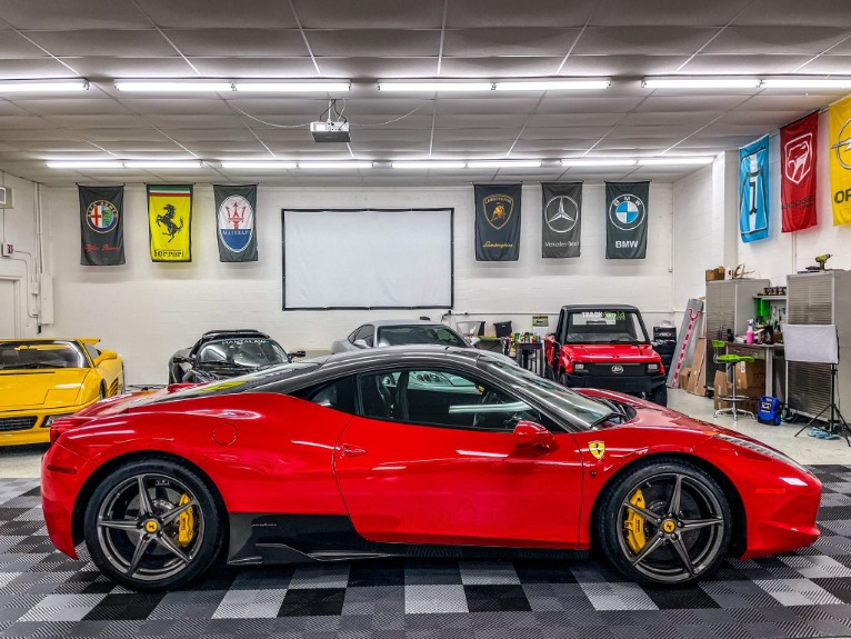 Used 2013 Ferrari 458 Italia Coupe 2D for sale Sold at Track & Field Motors in Safety Harbor FL 34695 2