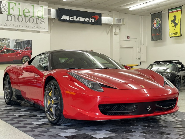 Used 2013 Ferrari 458 Italia Coupe 2D for sale Sold at Track & Field Motors in Safety Harbor FL 34695 3
