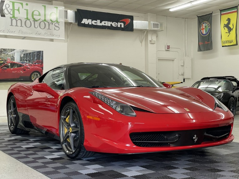 Used 2013 Ferrari 458 Italia Coupe 2D for sale Sold at Track & Field Motors in Safety Harbor FL 34695 4