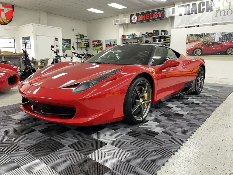 Used 2013 Ferrari 458 Italia Coupe 2D for sale Sold at Track & Field Motors in Safety Harbor FL 34695 5