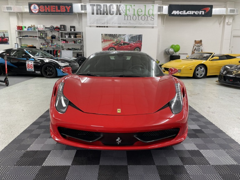 Used 2013 Ferrari 458 Italia Coupe 2D for sale Sold at Track & Field Motors in Safety Harbor FL 34695 6