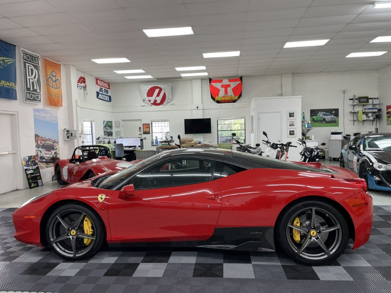 Used 2013 Ferrari 458 Italia Coupe 2D for sale Sold at Track & Field Motors in Safety Harbor FL 34695 7