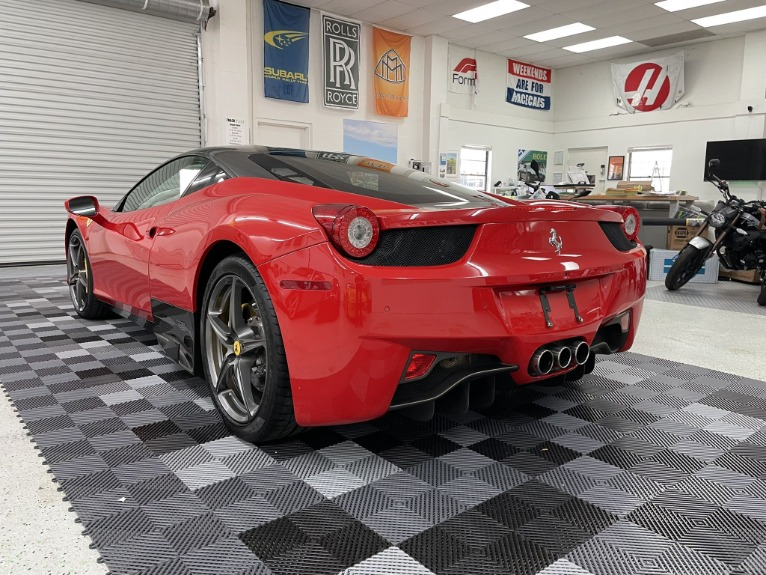 Used 2013 Ferrari 458 Italia Coupe 2D for sale Sold at Track & Field Motors in Safety Harbor FL 34695 8