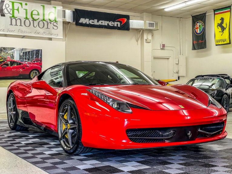 Used 2013 Ferrari 458 Italia Coupe 2D for sale Sold at Track & Field Motors in Safety Harbor FL 34695 1