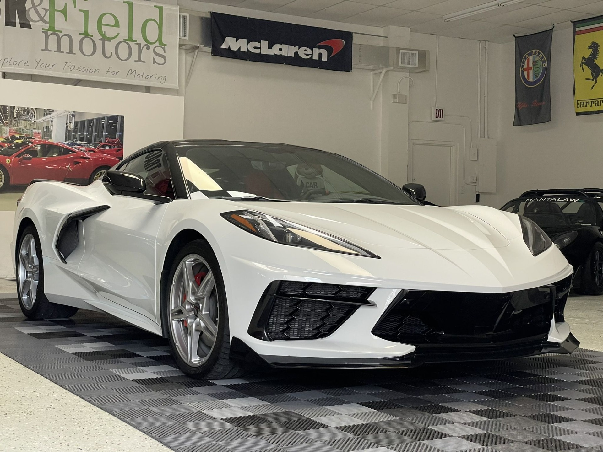 Used 2020 Chevrolet Corvette Stingray Coupe 2D for sale Sold at Track & Field Motors in Safety Harbor FL 34695 1