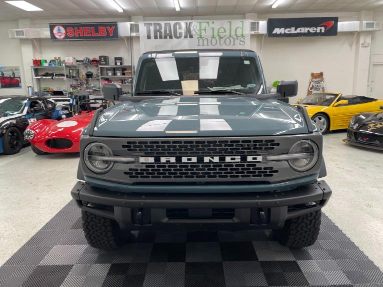 Used 2021 Ford Bronco Badlands Sport Utility 4D for sale Sold at Track & Field Motors in Safety Harbor FL 34695 2